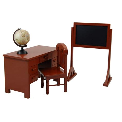 school teacher desk play set furniture for 18 quot girl