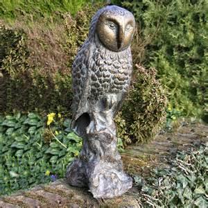 garten statue owl garden statue