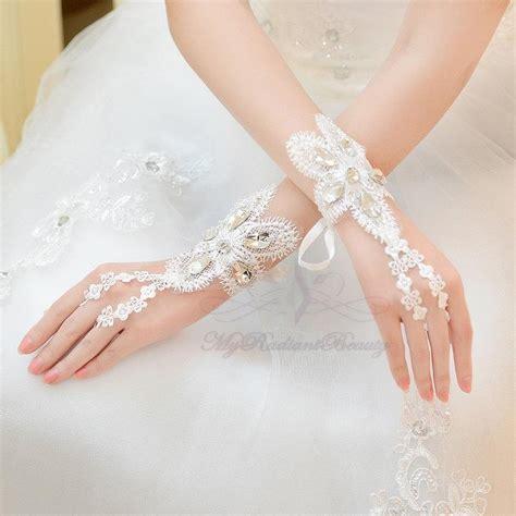 bridal gloves short gloves french gloves fashion