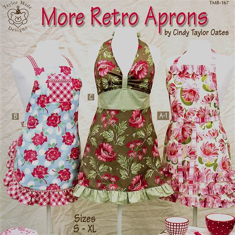 Retro Apron Pattern Book | more retro aprons vintage sewing gift new pattern book