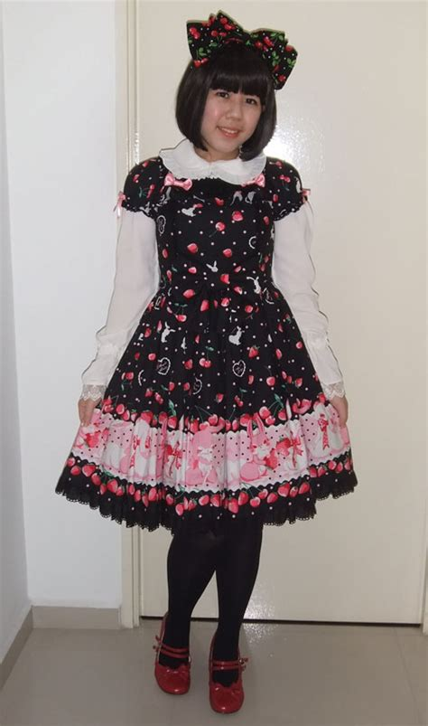 Baju Dress To Rabbit Bery Blouse angie n angelic pretty cherry berry bunny op r series blouse chose cherry print