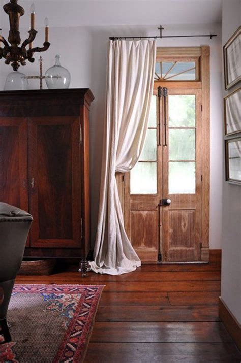 drapes over french doors a cozy yet chic style upgrade modern porti 232 re curtains