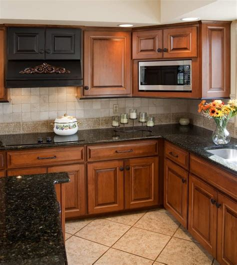 black and brown kitchen cabinets spectacular granite colors for countertops photos