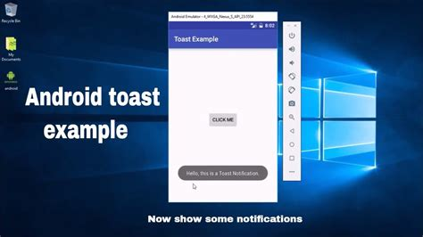 android toast exle android toast exle in android apps using android studio