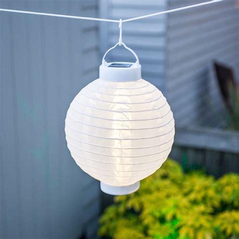 Outdoor Solar Lights Nz Set Of 4 Soji Solar Outdoor Lanterns 20cm 10 Quot White