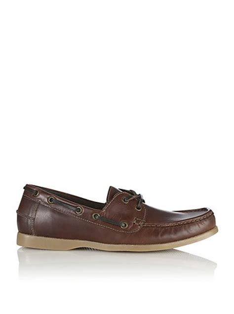 asda george shoes leather boat shoes george at asda