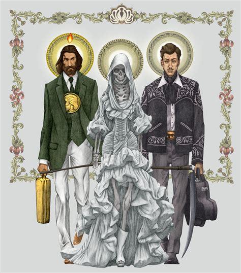 la santa muerte y san judas tadeo im 225 genes de la santa
