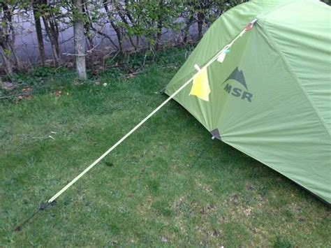Tali Frame Tenda cara mendirikan tenda saat badai atau angin kencang