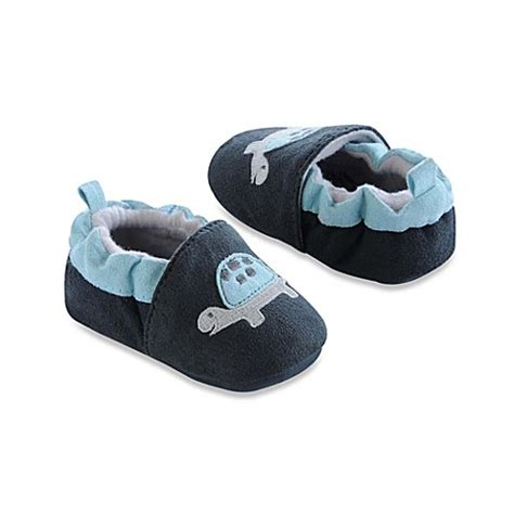 carters slippers s 174 turtle slippers in navy buybuy baby