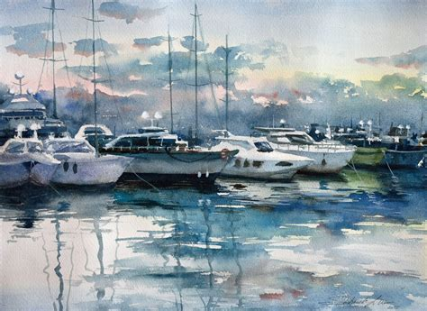 boat paint for sale canada sketchbook by lilla schuch watercolor artist from
