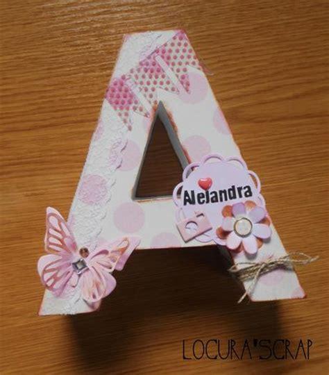 decoracion de letras en carton 3d letras a de cart 243 n decoradas paperblog