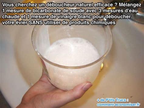 Deboucheur Evier Naturel by Enfin Un D 233 Boucheur Naturel Pour 201 Vier Qui Marche
