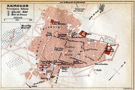 kairouan map great mosque of kairouan