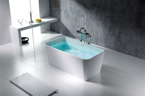 solid surface bathtubs rennes solid surface modern bathtub 59 quot