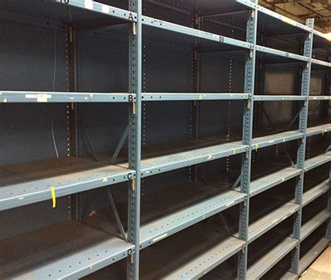 used shelving ct warehouse racks used steel shelving