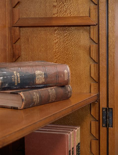 Silky Oak Bookcase Open Shelf Silky Oak Bookcase Open Shelf Lacewood Furniture