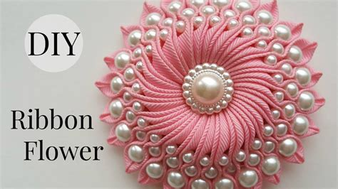 Handmade Ribbon Flower Tutorial - image gallery handmade ribbon flowers
