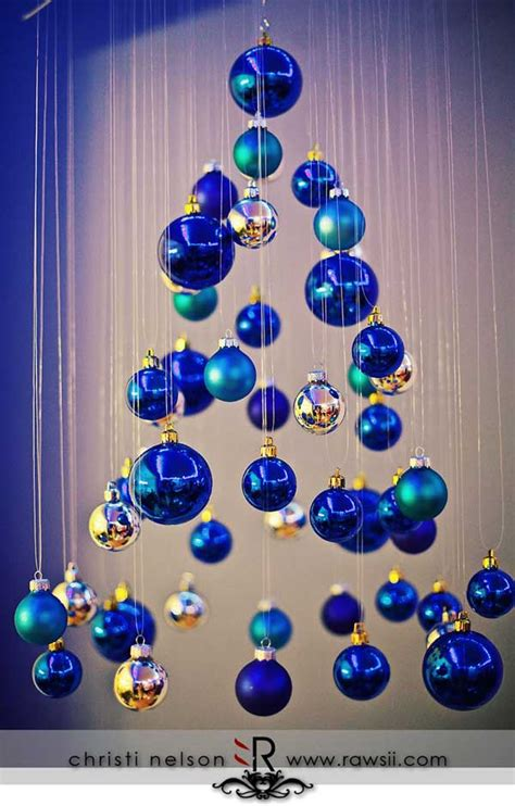 blue christmas decorations christmas celebrations
