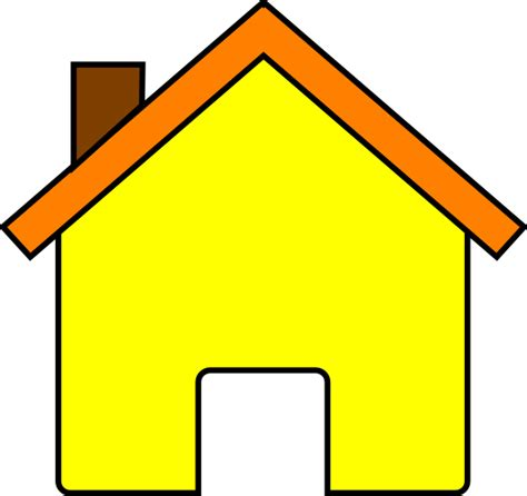 cartoon house clip art at clker com vector clip art yellow house 2 clip art at clker com vector clip art