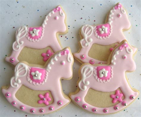 cookie favors for baby shower rocking cookies baby shower cookie favors 1 by