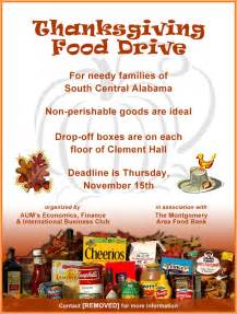 food drive flyer samples website resume cover letter