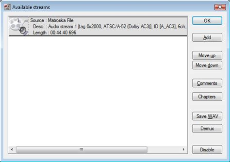 ac3 audio format file extract ac3 audio from avi file afterdawn guides