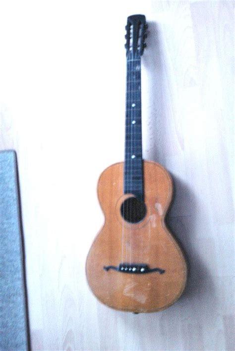 Gitarre Lackieren Schweiz by 100 Jahre Alte Westerngitarre Reparieren