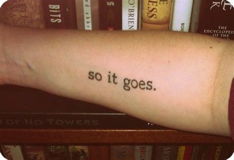 this tattoo reminds me to keep everything in perspective