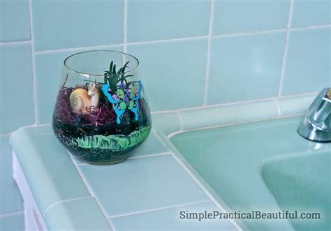 bathroom terrarium how to make a terrarium for kids simple practical beautiful