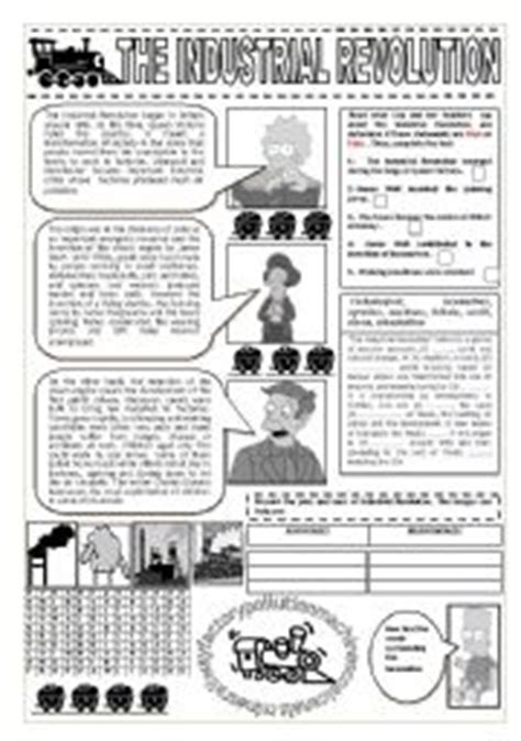 Industrial Revolution Worksheets by Industrial Revolution And The Simpsons