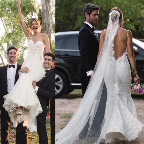 imagenes de vestidos de novias famosas argentinas 8 vestidos de novia de famosas que dieron el 161 s 237 el bazar