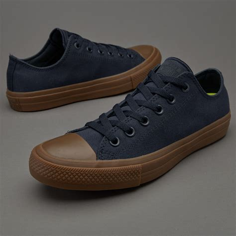 sepatu sneakers converse chuck all ii ox obsidian