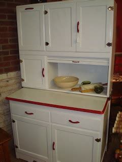 Colonial Square Antique Mall, LLC: White Hoosier Cabinet