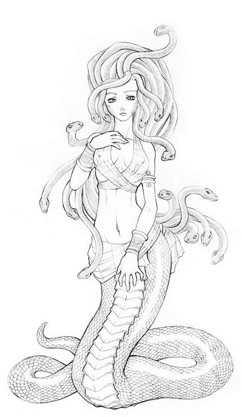 medusa coloring pages free coloring pages of medusa