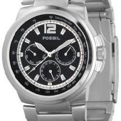 fossil fs4125 stainless steel watchallure