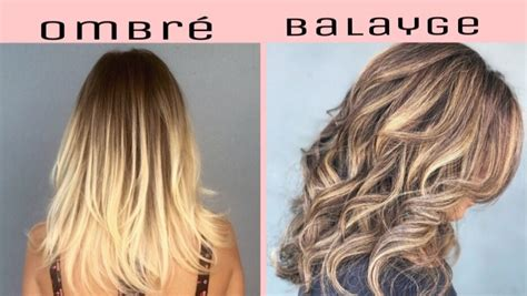 balayage hair color vs ombre the difference between balayage and ombre basin