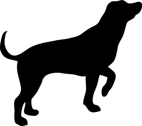 puppy silhouette 25 best ideas about silhouette on outline paw prints and