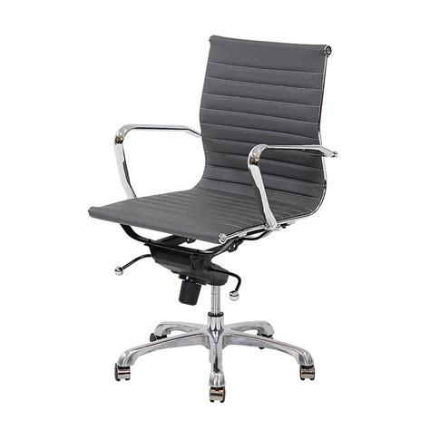 Gray Desk Chair by Watson Gray Low Back Desk Chair El Dorado Furniture