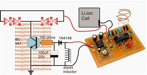 wireless helmet brake light circuit electronic circuit