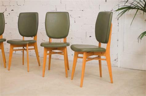 chaises vintage 233 es 50 1950 salle 224 manger vert