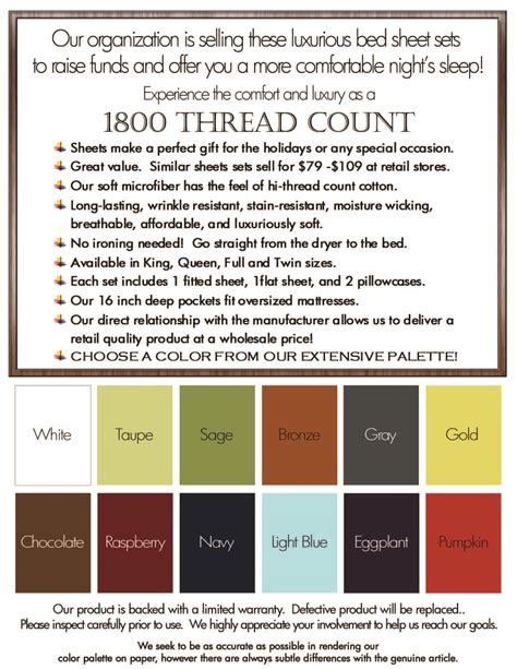 sheet thread count chart what thread count is best ayucar