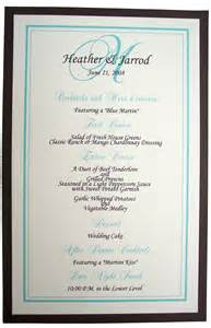 reception menu cards templates pin wedding menu card templates free on