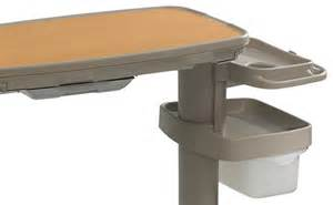overbed table with storage tru fit overbed tables stryker patient care united states