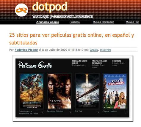 paginas para ver peliculas de estreno gratis online espanol y hd 2015 ver peliculas online gratis world news 80 25 sitios para