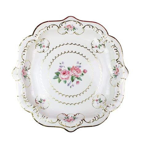 shabby chic tableware plates and napkins shabby chic tableware shabby chic