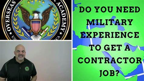 Do You Need A Ba To Get An Mba by Do You Need Experience To Get Defense Contractor