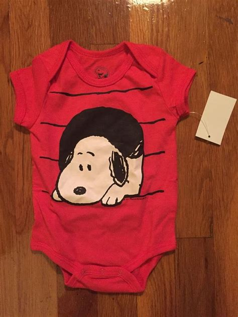 Denim Snopy Kid unisex snoopy onesie size nb bnwt in clothing shoes accessories baby toddler clothing