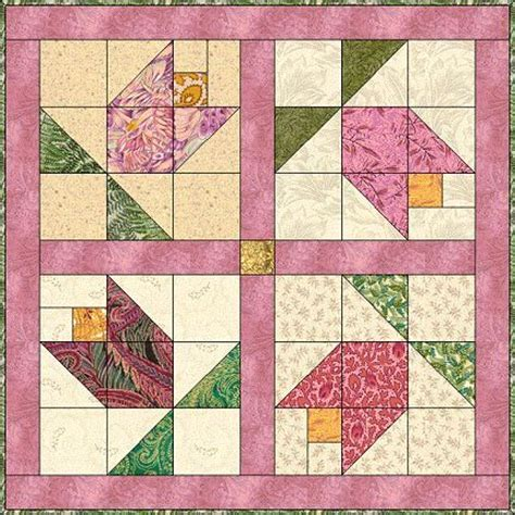 Tulip Quilt Pattern Block by 17 Best Images About Quilts On Runners