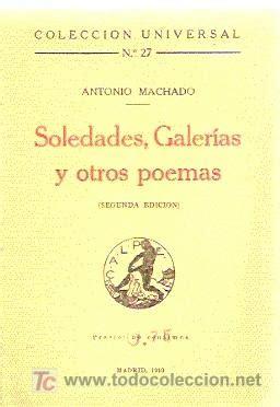 libro soledades galerias otros poemas soledades galer 237 as y otros poemas antonio m comprar
