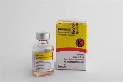 Serum Bisa Ular serum anti bisa ular kuda biofarma